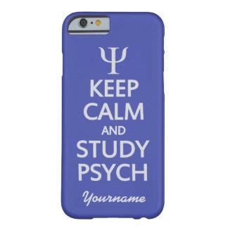 Keep Calm Study Psych custom color text cases