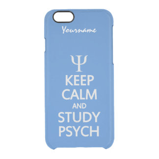Keep Calm & Study Psych custom color & text cases