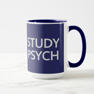 Keep Calm & Study Psych mug - choose style, color