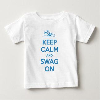 keep calm swag on t-shirts