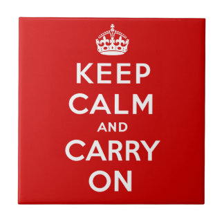 Keep Calm Tile