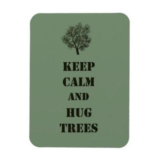 Keep Calm Trees Magnet