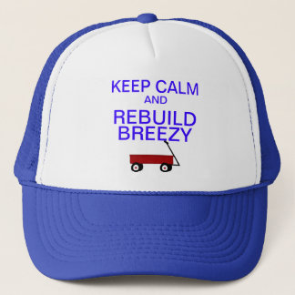KEEP CALM TRUCKER HAT