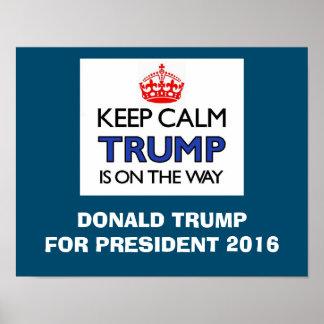 Keep Calm TRUMP Poster