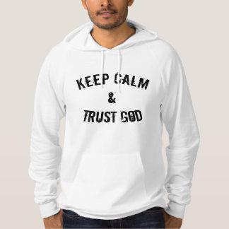 Keep Calm & Trust God Hoodie
