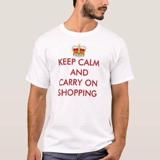 KEEP CALM TSHIRT - Customized