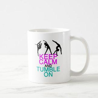 Keep Calm Tumble On Gymnastics Coffee Mug