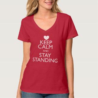 Keep Calm v-neck T-Shirt