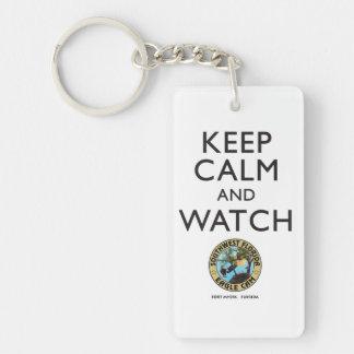 Keep Calm & Watch the SWFEC Keychain