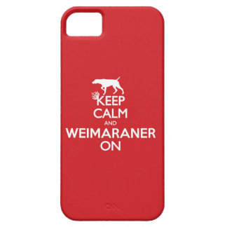 KEEP CALM WEIMARANER iPhone 5 COVER
