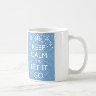 Keep calm wild duck let it go - mug