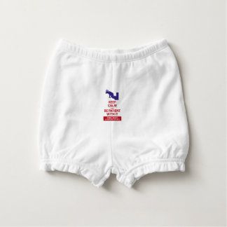 Keep Calm with Human Stupidity Diaper Cover
