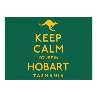Keep Calm You're in Hobart! Card