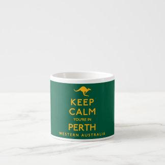 Keep Calm You're in Perth! Espresso Cup