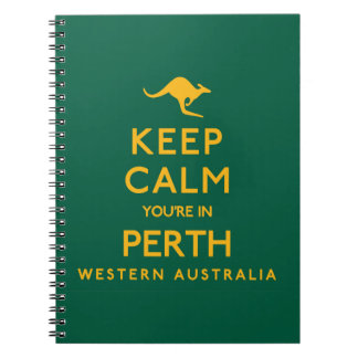 Keep Calm You're in Perth! Notebooks