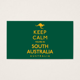 Keep Calm You're in South Australia! Business Card