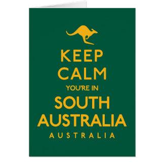 Keep Calm You're in South Australia! Card