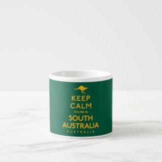 Keep Calm You're in South Australia! Espresso Cup