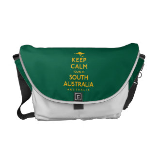 Keep Calm You're in South Australia! Messenger Bag