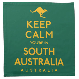 Keep Calm You're in South Australia! Napkin
