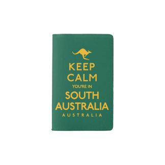 Keep Calm You're in South Australia! Pocket Moleskine Notebook