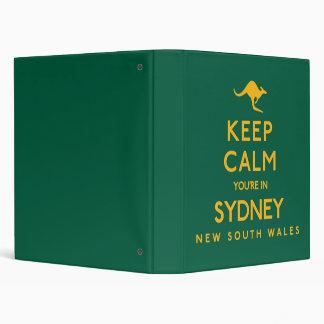 Keep Calm You're in Sydney! Binders