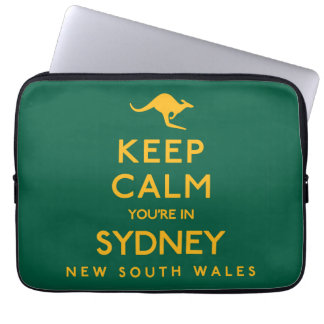 Keep Calm You're in Sydney! Laptop Sleeve