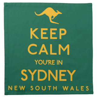 Keep Calm You're in Sydney! Napkin