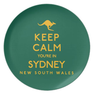 Keep Calm You're in Sydney! Plate