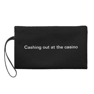 Keep cash in a dash wristlet