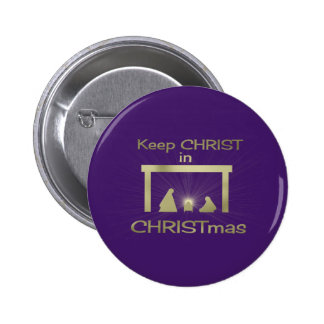 Keep Christ In Christmas Buttons Badges Pins