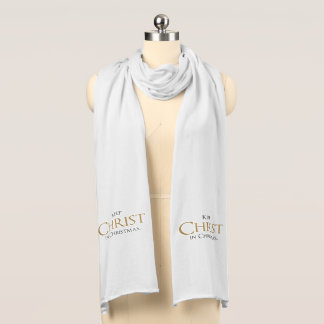 Keep Christ In Christmas® Jersey Scarf
