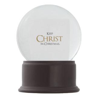 Keep Christ In Christmas® Snow Globe