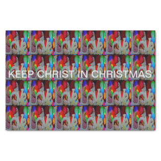 Keep Christ n Christmas with the Nativity and Love Tissue Paper