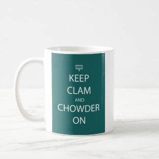 Keep Clam Mug