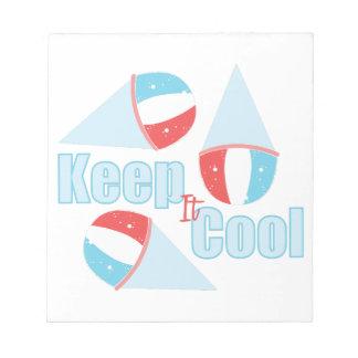 Keep Cool Notepads
