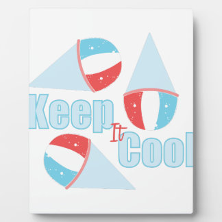 Keep Cool Plaque