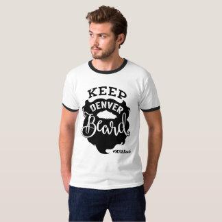 """""""Keep Denver Beard"""" - Men's T-Shirt"""