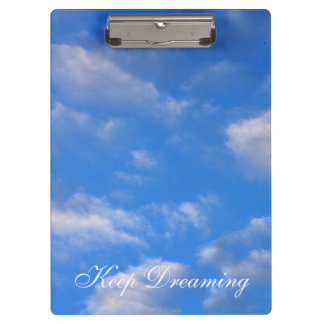 Keep Dreaming in the Clouds Clipboards