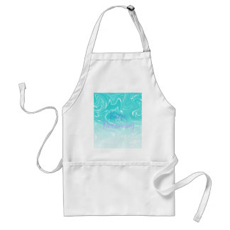 Keep Dreaming Typography on Liquid Marble Design Standard Apron
