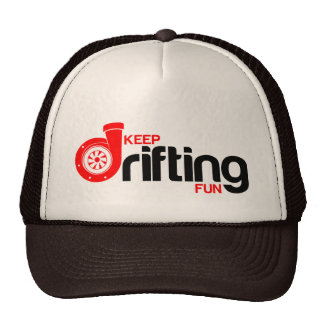 Keep Drifting Fun Trucker Hat