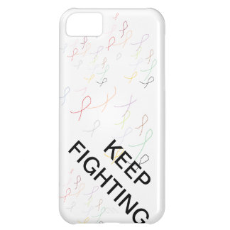 keep fighting cancer iPhone 5C cases