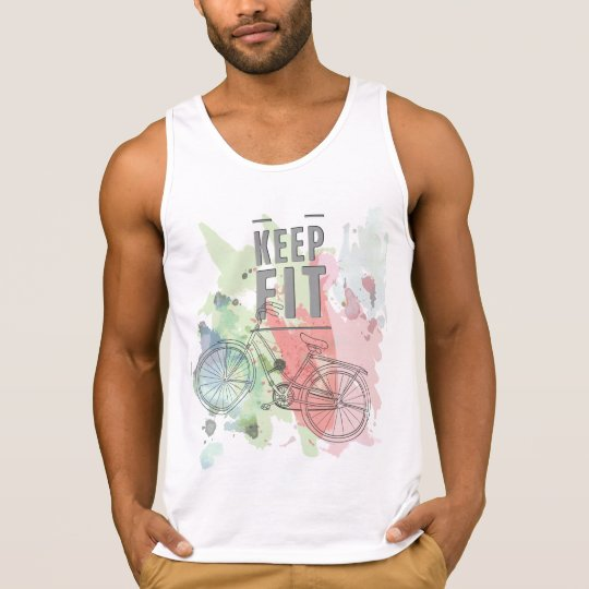 Keep Fit Men's Ultra Cotton Tank Top