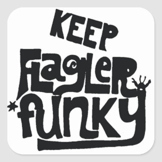Keep Flagler Funky sticker
