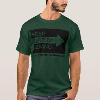 Keep Florida Moving t-shirt in dark green