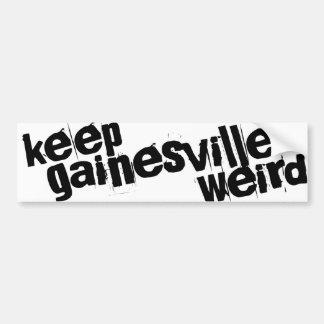 Keep Gainesville Weird Bumper Sticker