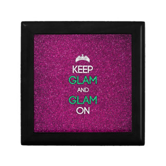 Keep Glam and Glam On Jewelry Boxes
