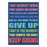 Keep Going Irish Dance Poster