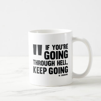 Keep going! Mug * Inspired with Quote Shop *