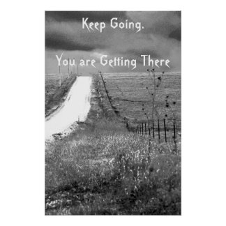 Keep Going Recovery Poster